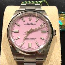 Rolex Oyster Perpetual 36 Stahl 36mm Pink Keine Ziffern Deutschland, Eltville