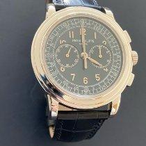 Patek Philippe Chronograph Platine 42mm Bleu Arabes
