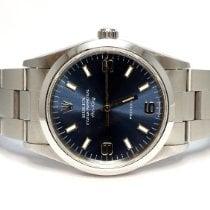 Rolex Air King Precision Steel 34mm Blue United Kingdom, Essex