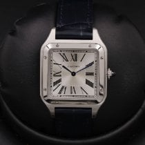 Cartier Santos Dumont Steel 31mm Silver Roman numerals United States of America, California, Huntington Beach