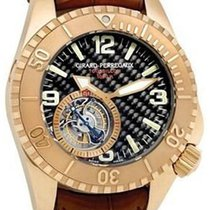 Girard Perregaux Sea Hawk new Manual winding Watch with original box and original papers 99945-52-651-BDEA