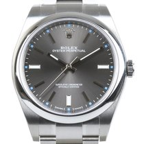 Rolex Oyster Perpetual 39 Acero 39mm Gris Sin cifras