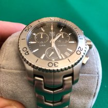 TAG Heuer Link Quartz nuevo Cuarzo Cronógrafo Reloj con documentos originales CJ1110