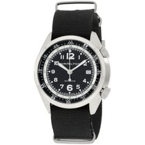 Hamilton Khaki Pilot Pioneer Steel 41mm Black Arabic numerals United States of America, New Jersey