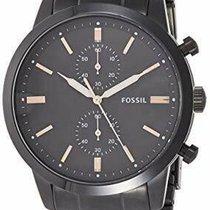 Fossil Steel 44mm Quartz FS5379 United States of America, New Jersey, Somerset