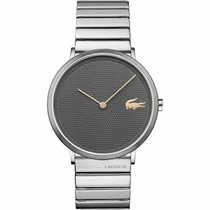 Lacoste Steel 40mm Quartz 2010954-SDB United States of America, New Jersey