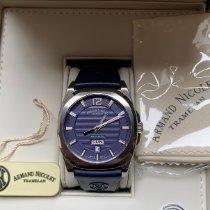Armand Nicolet J09 Stahl 42mm Blau