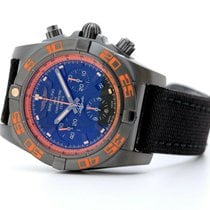 Breitling Steel Automatic Black 44mm pre-owned Chronomat 44 Raven
