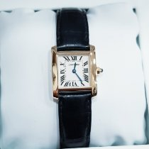 Cartier Tank Française 2385 Very good Yellow gold 20mm Quartz