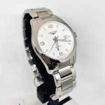 Longines Conquest Classic Steel 40mm Silver Arabic numerals United States of America, New York, NY
