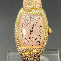 Franck Muller Heart Sehr gut Roségold 25mm Quarz