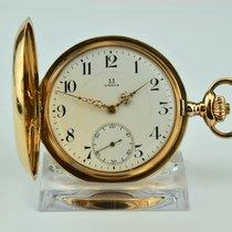Omega Uhr gebraucht Gelbgold Handaufzug Nur Uhr