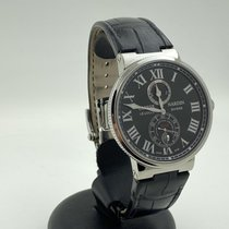 Ulysse Nardin Marine Chronometer 43mm Acier 43mm Noir Romains