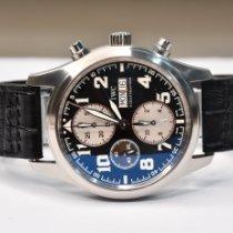 IWC Pilot Chronograph Acél 42mm Fekete Arab