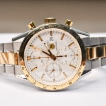 TAG Heuer Carrera Calibre 16 Gold/Steel 41mm Silver