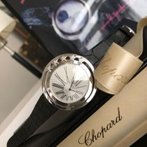 Chopard White gold 43mm Quartz 137625-1001 pre-owned