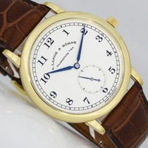 A. Lange & Söhne 1815 Or jaune 36mm Argent Arabes