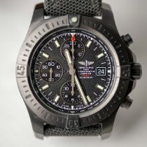 Breitling Colt Chronograph Automatic pre-owned 44mm Black Chronograph Date Textile