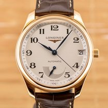 Longines Rose gold Automatic White pre-owned Master Collection