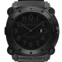 Hamilton Khaki Navy BeLOWZERO Steel 46mm Black United States of America, Michigan, STERLING HEIGHTS