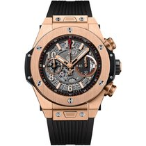 Hublot Big Bang Unico Rose gold 45mm Grey