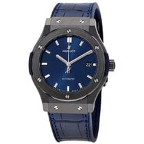 Hublot Classic Fusion Blue Ceramic 42mm Blue No numerals United States of America, New York, New York