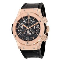 Hublot Classic Fusion Aerofusion Rose gold 45mm Grey No numerals United States of America, New York, New York
