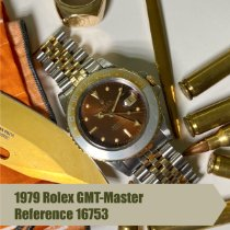 Rolex GMT-Master Gold/Steel 40mm Brown No numerals United States of America, Florida, Coral Gables