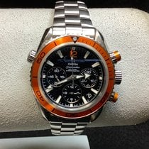 Omega Seamaster Planet Ocean Chronograph new Watch with original box and original papers 222.30.38.50.01.002