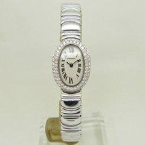 Cartier Baignoire WB5095L2 Tilfredsstillende Hvitt gull 25mm Kvarts