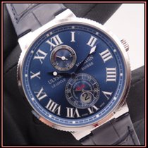 Ulysse Nardin Marine Chronometer 43mm Сталь 43mm Синий Римские