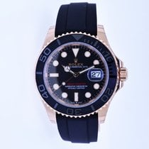 Rolex Yacht-Master 40 Rose gold 40mm Black No numerals United States of America, New York, Massapequa