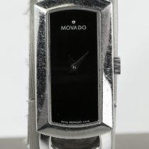 Movado Rondiro usados 15mm Negro Acero