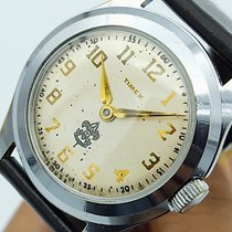 Timex Steel 33mm Manual winding Timex Marlin Boy Scouts pre-owned United States of America, Illinois, Winnebago