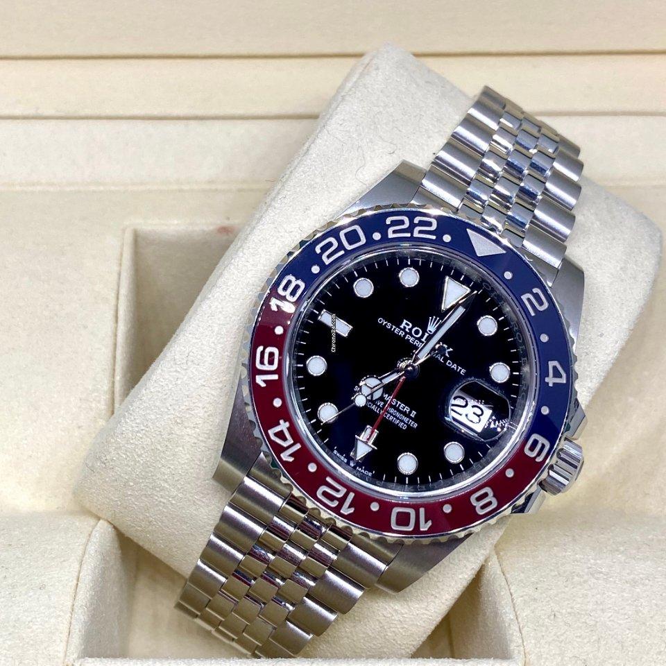 Rolex (ロレックス) GMT マスター II 126710BLRO-0001 2019 新品