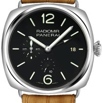 Panerai Radiomir 10 Days GMT new 2013 Automatic Watch with original box and original papers PAM 00323