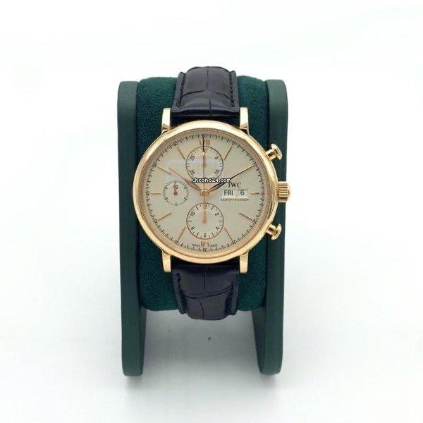 IWC Portofino Chronograph IW391020 подержанные