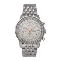 Breitling Navitimer Heritage Steel 41mm Silver No numerals United States of America, Pennsylvania