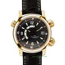 Jaeger-LeCoultre Reverso Squadra World Chronograph Oro rosa 42mm Negro