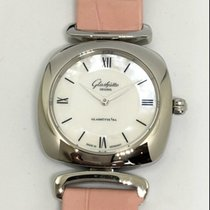 Glashütte Original Pavonina pre-owned 31mm Mother of pearl Crocodile skin