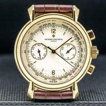 Vacheron Constantin Historiques Yellow gold 37mm Silver United States of America, Massachusetts