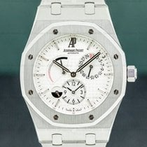 Audemars Piguet Royal Oak Dual Time Acier Blanc