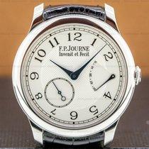F.P.Journe Souveraine Platinum 40mm Silver Arabic numerals United States of America, Massachusetts, Boston