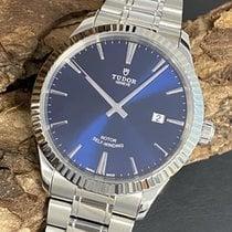 Tudor Style Acier 41mm Bleu
