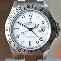 Rolex Explorer II pre-owned Date GMT