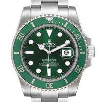 Rolex Automático Verde 40mm usados Submariner Date