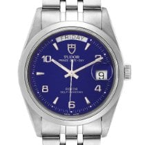 Tudor Glamour Date-Day Steel 36mm Blue Arabic numerals United States of America, Georgia, Atlanta