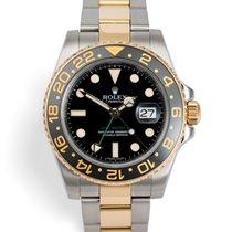 劳力士 GMT-Master II 116713LN 全新 金/钢 40mm 自动上弦