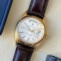 Rolex Day-Date 36 Geelgoud 36mm Zilver Geen cijfers Nederland, Heerenveen