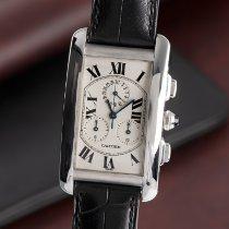 Cartier Tank Américaine Λευκόχρυσος 36.5mm
